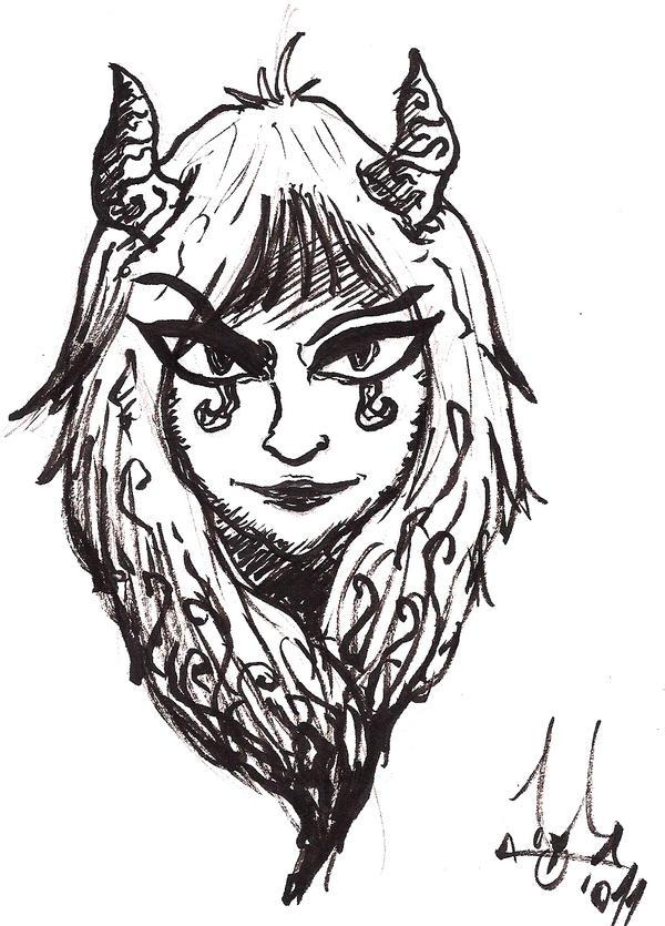 Demoness by Rafanas