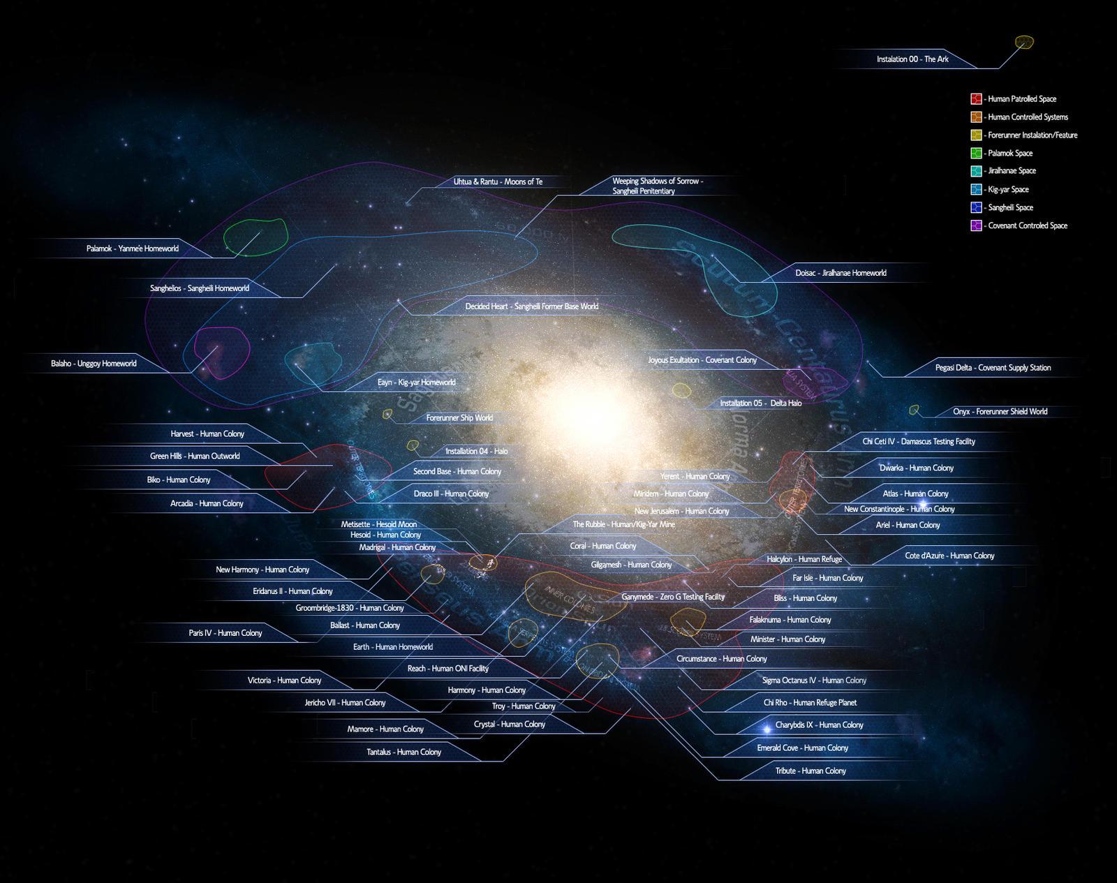 NASA Galaxy Map - Pics about space