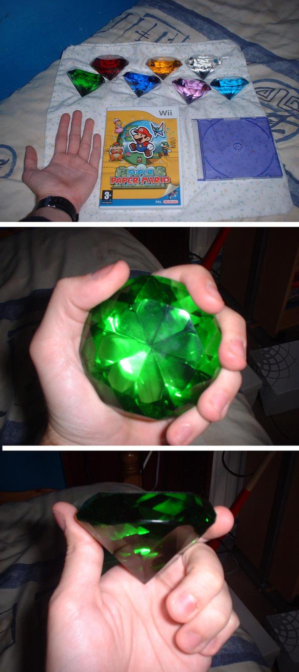 chaos emerald size comparison by sonikku88 on deviantart