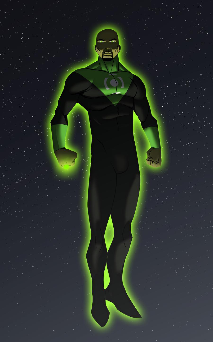 Green Lantern: John Stewart by JoeMDavis