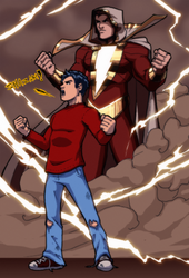 Billy Batson! by JoeMDavis