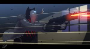Nightclaw Gunfight by JoeMDavis