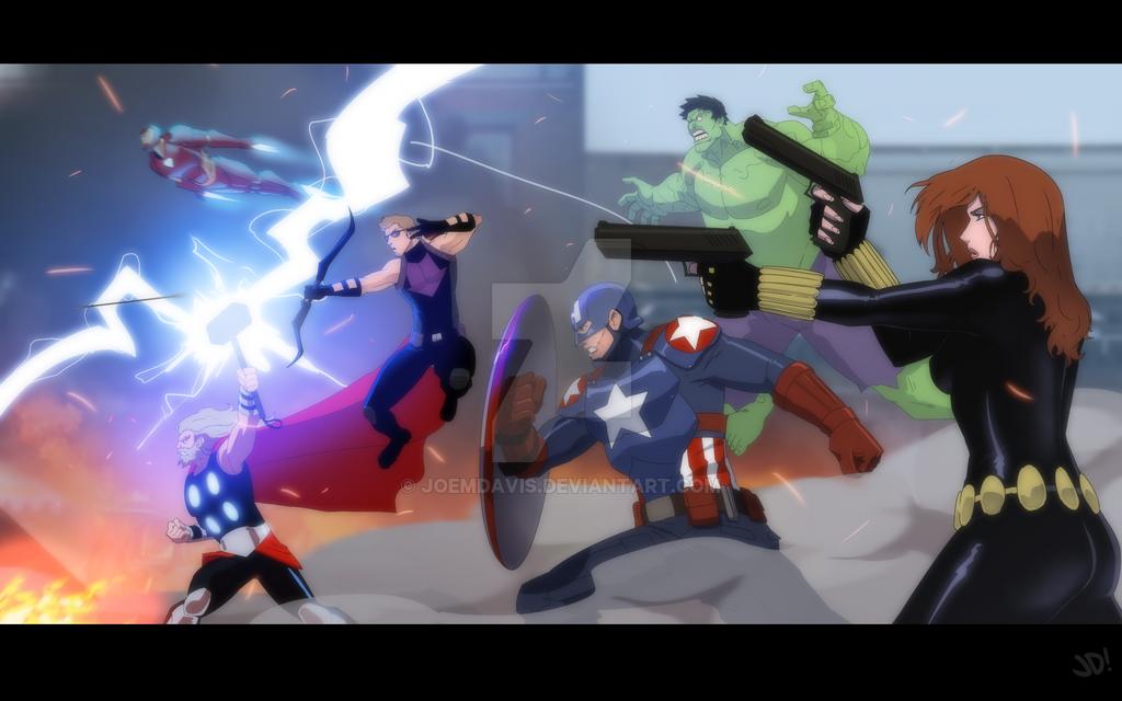 Avengers Assemble by JoeMDavis