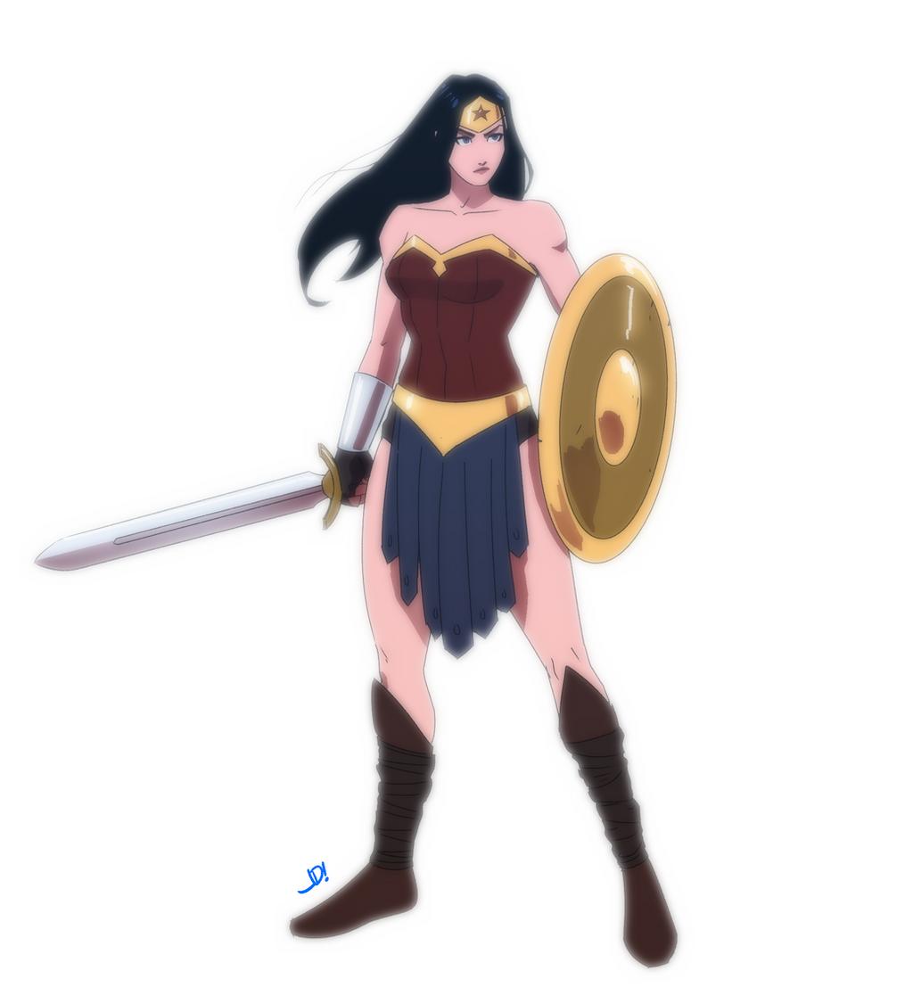 Wonder Woman by JoeMDavis