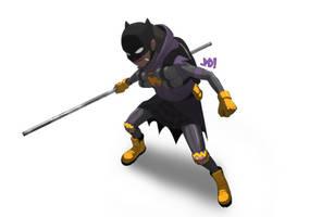 Crump's Batgirl by JoeMDavis