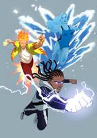 Bolt, Oshae, Temper by JoeMDavis