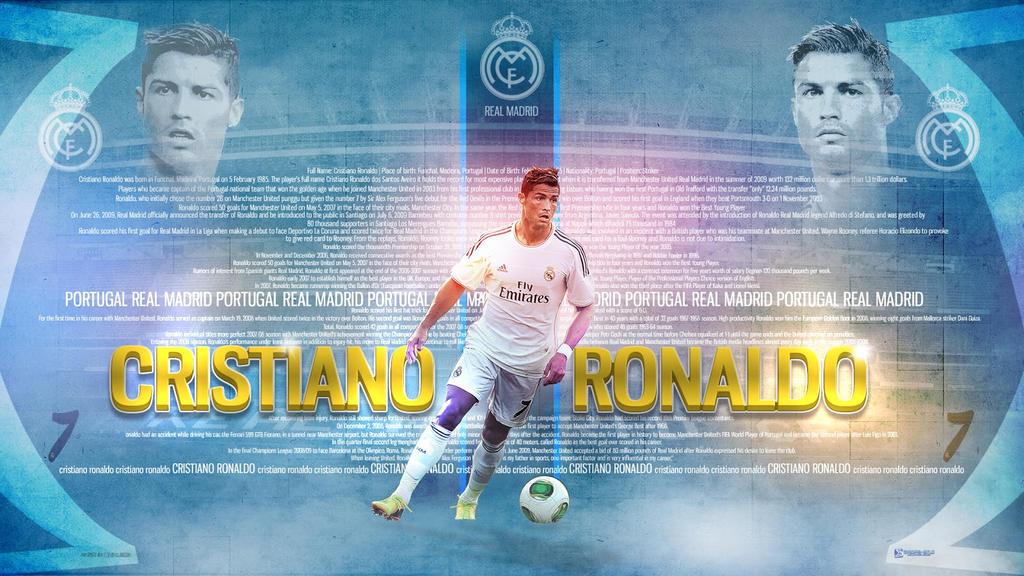 286. Cristiano Ronaldo by RGB7