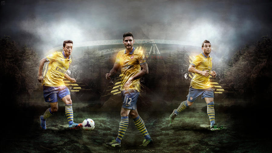 389. Arsenal The Magical Trio By RGB7 On DeviantArt