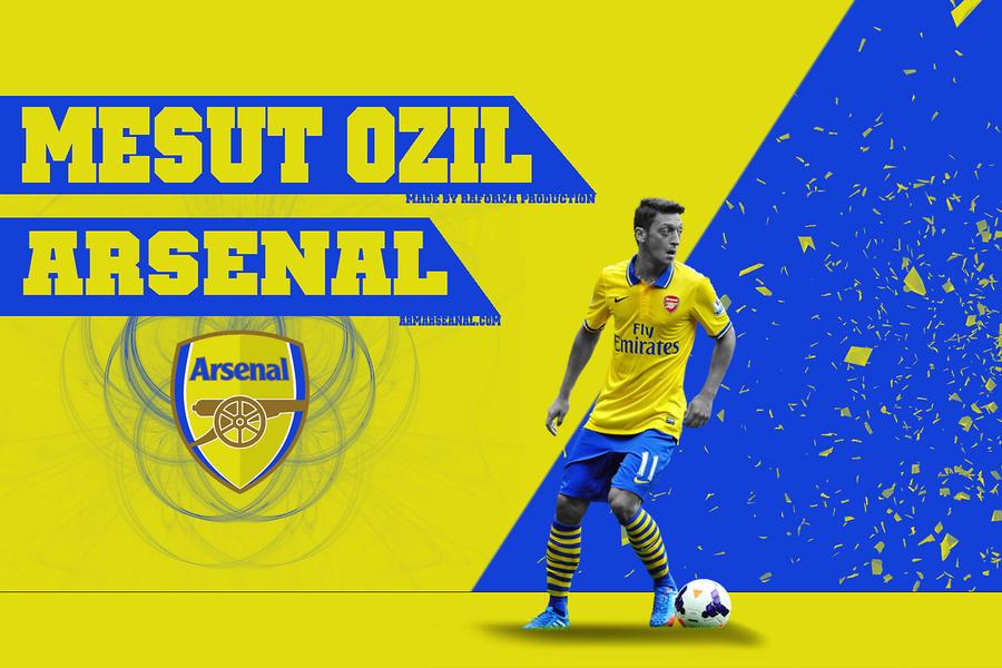 428. Mesut Ozil By RGB7 On DeviantArt