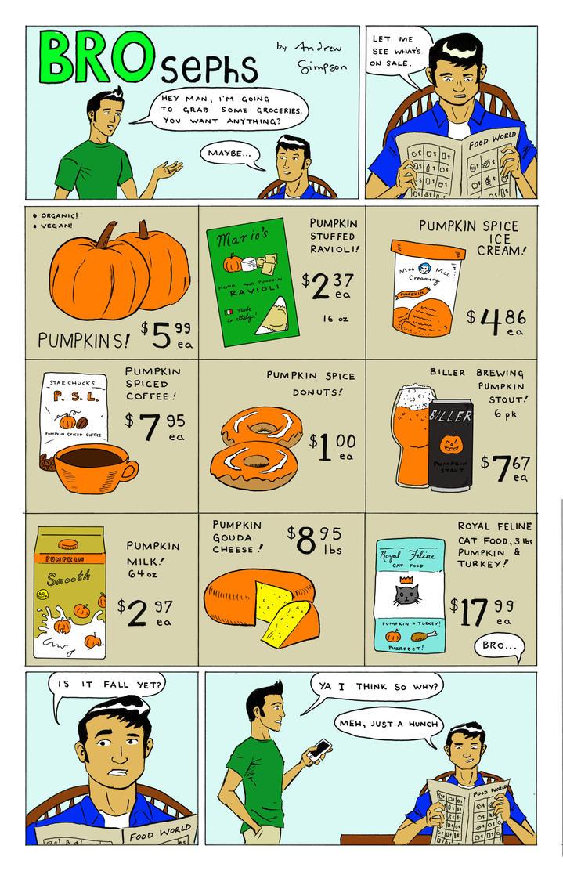 Brospehs: Pumpkin Season by w3verde