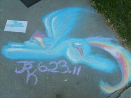 Rainbow Chalk by Ethereal-Aquamarine
