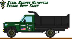GI Joe - Steel Brigade - Motivator Dump Truck
