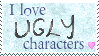 I love ugly characters by MissLunaRose