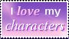 I Love my Characters