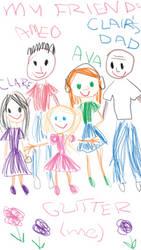 Glitter's Friends by MissLunaRose
