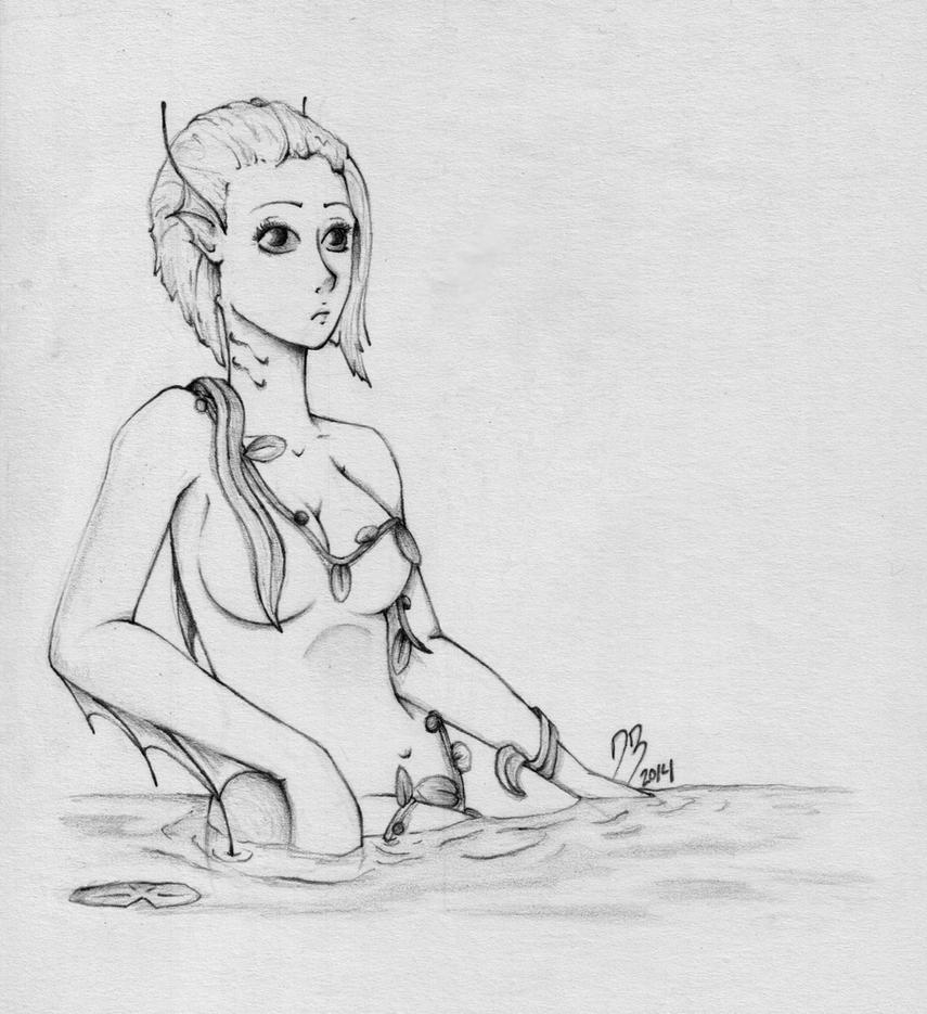 Naiad by DeathlyBeautiful52