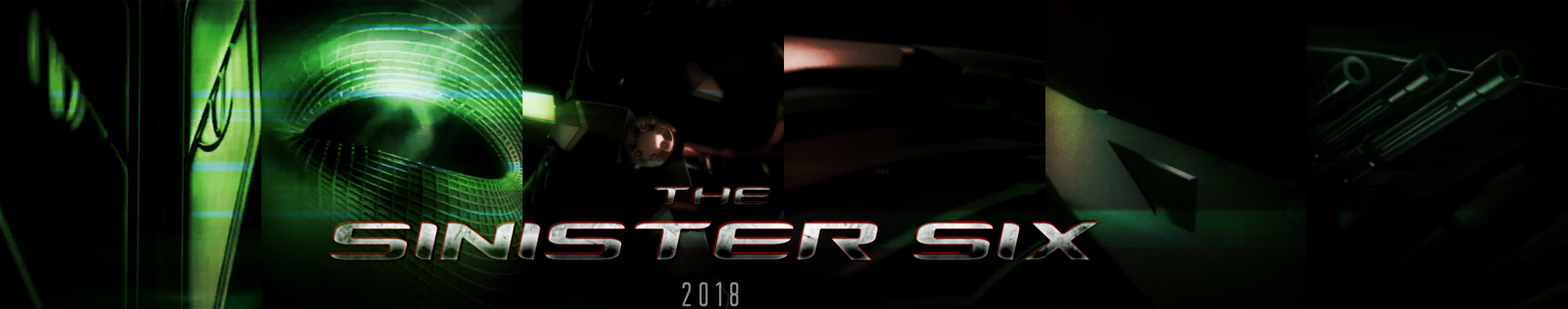 The Sinister Six Banner 2018 (Fan-Made) by TheDarkRinnegan ...