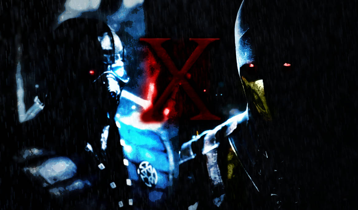 Mortal Kombat X Sub Zero V Scorpion Wallpaper By