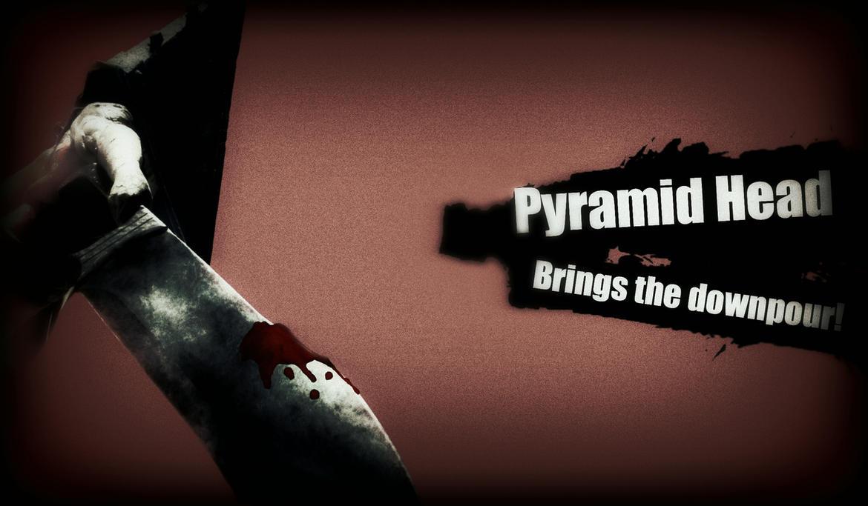 Super Smash Bros Wii U/3DS Newcomer: Pyramid Head by TheDarkRinnegan