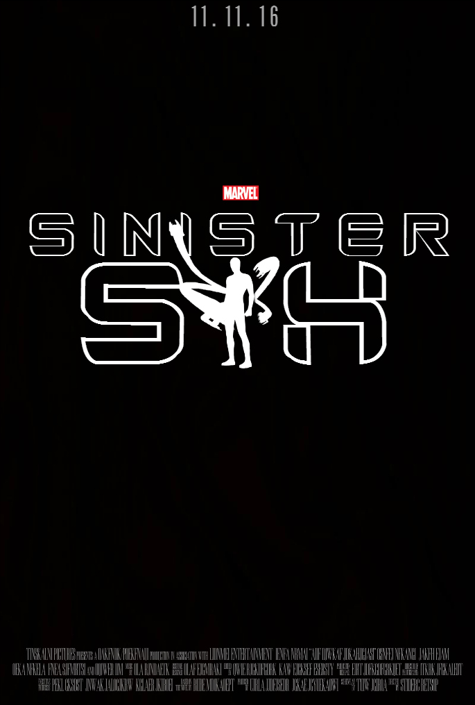 THE SINISTER SIX Movie Poster [Fan-Made] by ...
