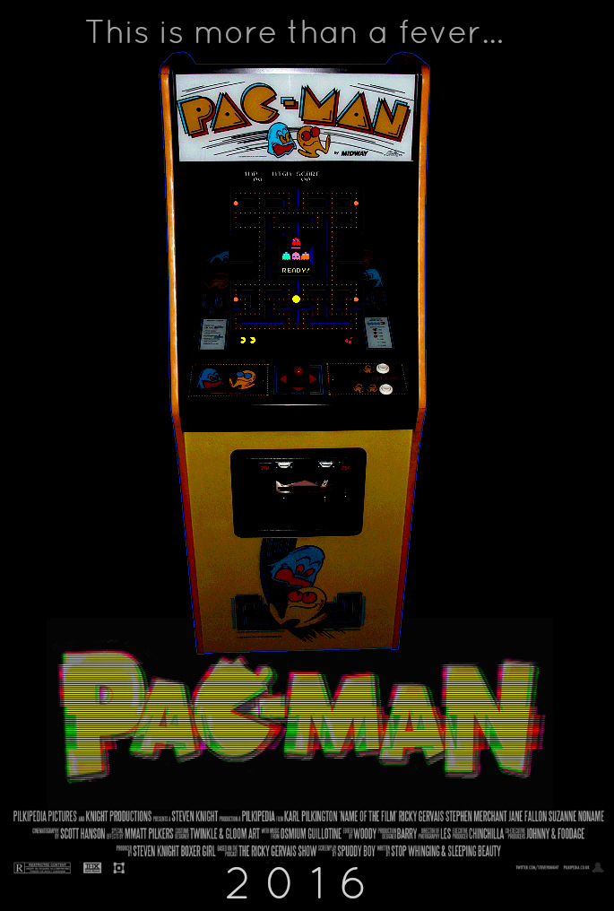PAC-MAN Creepypasta Movie Poster [Fan-Made] by TheDarkRinnegan