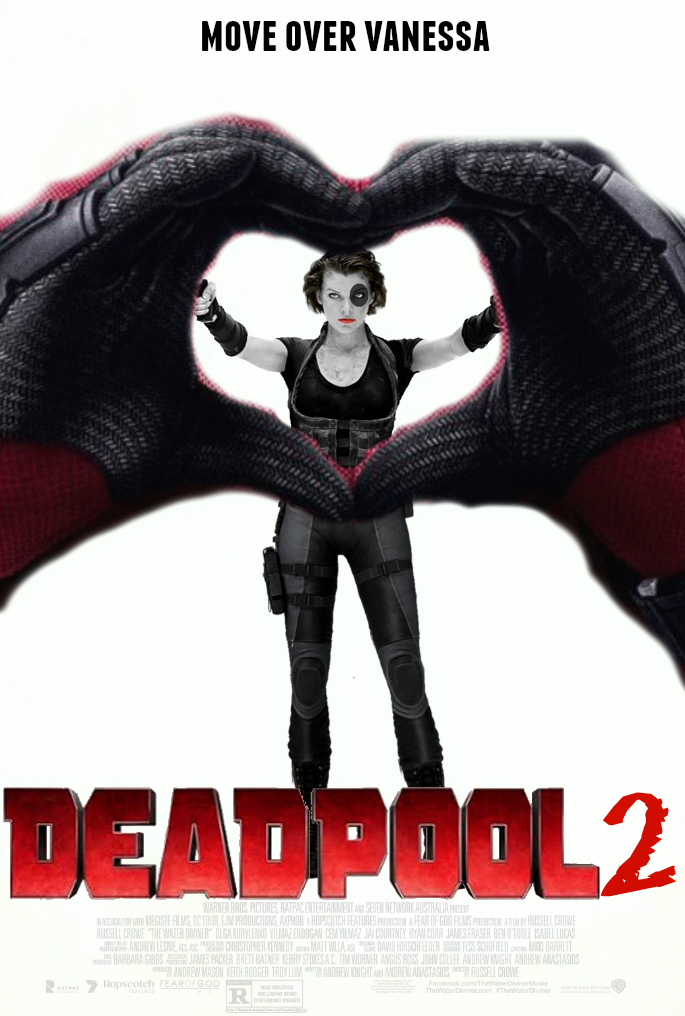 DEADPOOL 2 Fan-Made Movie Poster by TheDarkRinnegan on ...