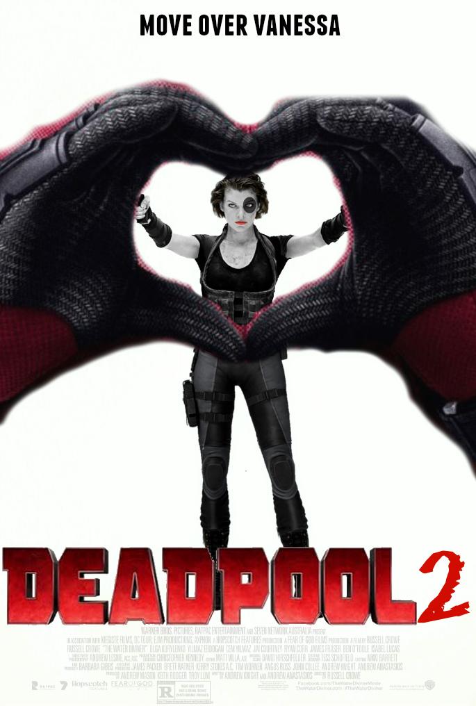 DEADPOOL 2 Fan-Made Movie Poster by TheDarkRinnegan on ...