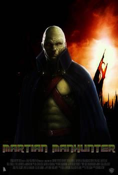 DC's MARTIAN MANHUNTER Movie Poster (FM)