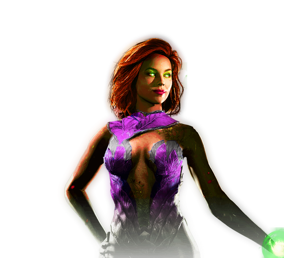 Injustice 2 - Starfire [Fan-Made] by TheDarkRinnegan