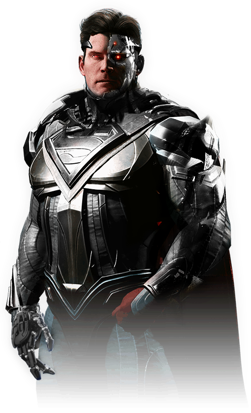 Injustice 2 - Cyborg Superman [Fan-Made] by TheDarkRinnegan