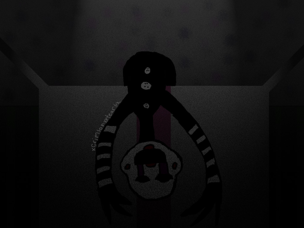 Fnaf 2 marionette by xcrimsonxxtearsx on deviantart