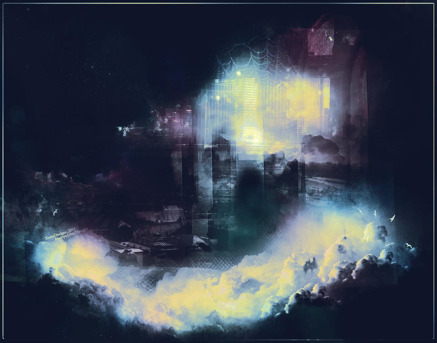 City Glistens by BloomingRoseXeniia