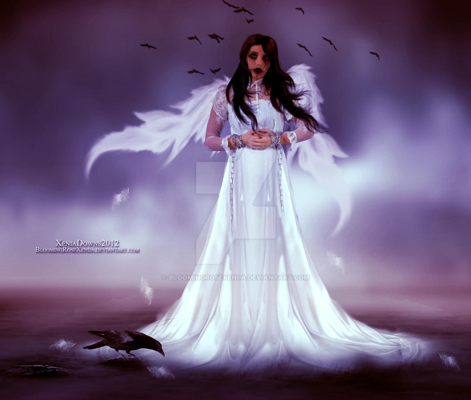 Scourned Angel by BloomingRoseXeniia