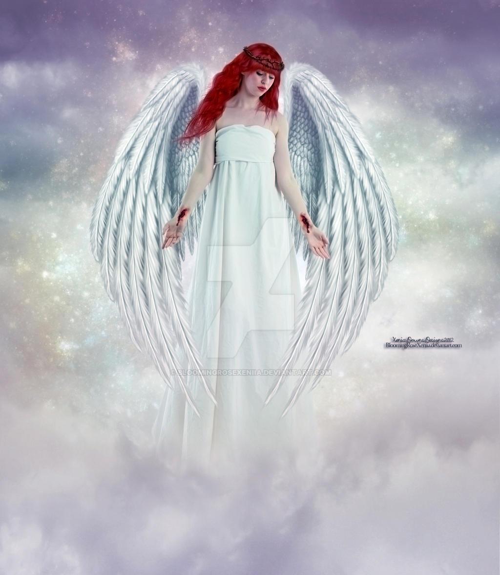 Angel Of Sorrow by BloomingRoseXeniia