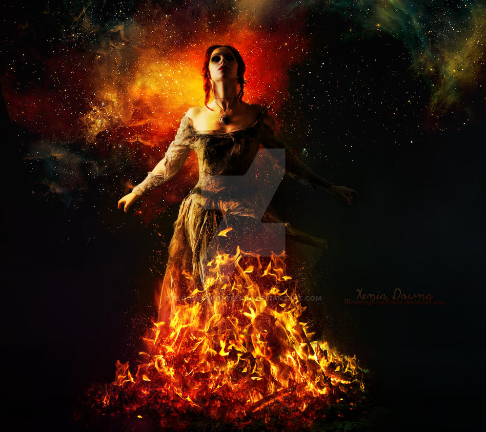 The Bringer Of Hell by BloomingRoseXeniia