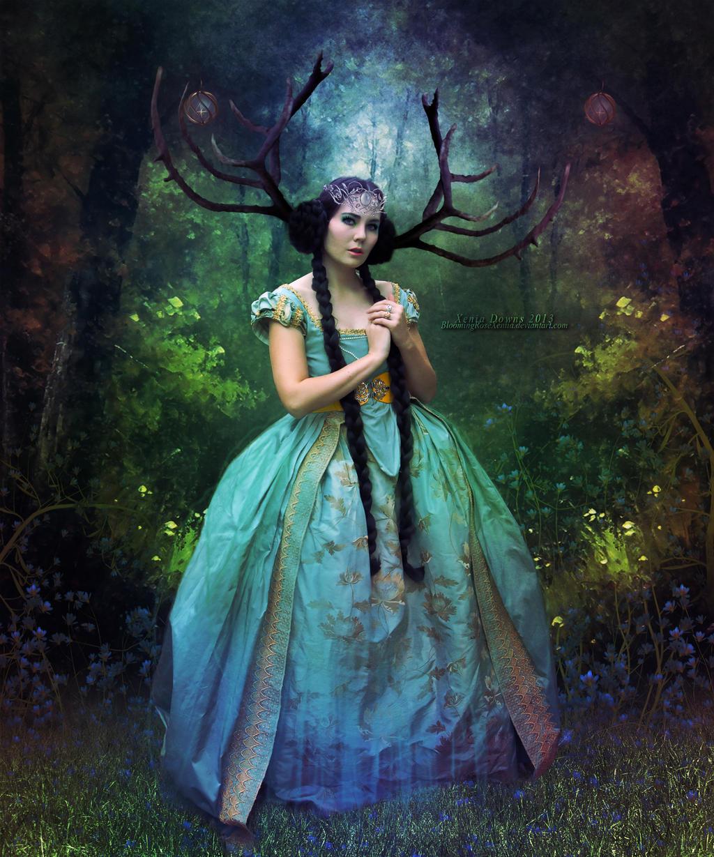 Woodland Princess by BloomingRoseXeniia