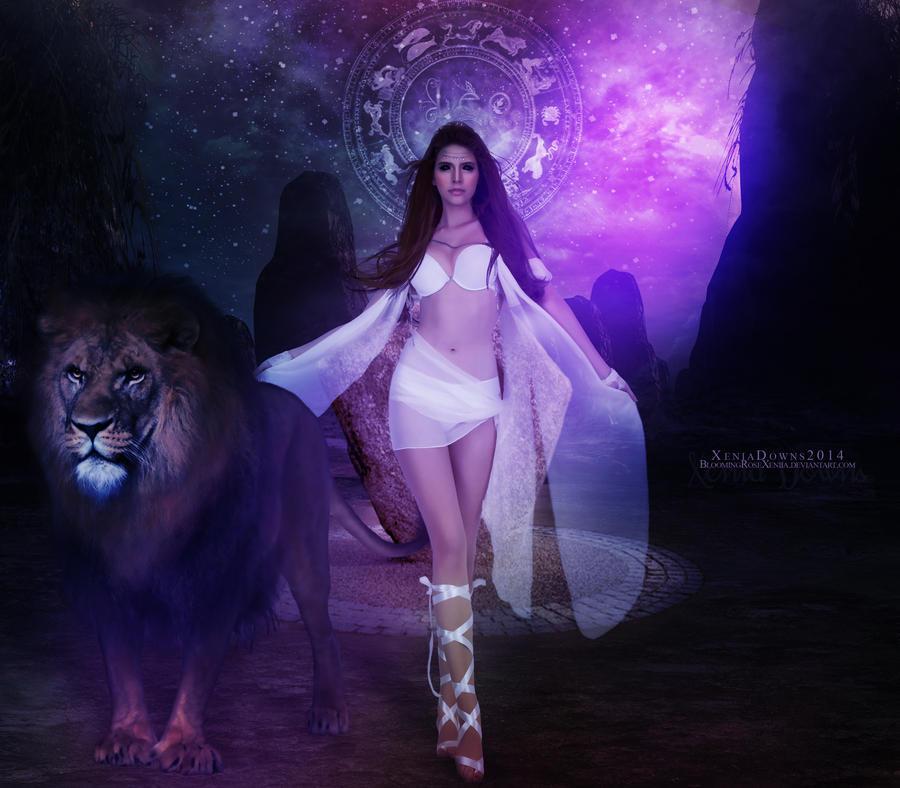 Leo - The Lion by BloomingRoseXeniia