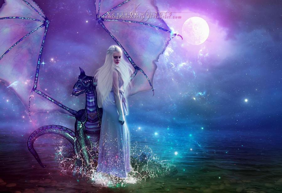 The Dragon Queen by BloomingRoseXeniia