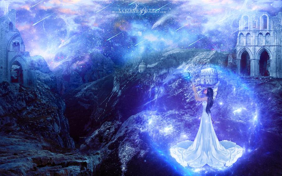 Cosmic Priestess by BloomingRoseXeniia