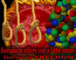 Socialist Candy Has Strings Attached by FlipswitchMANDERING
