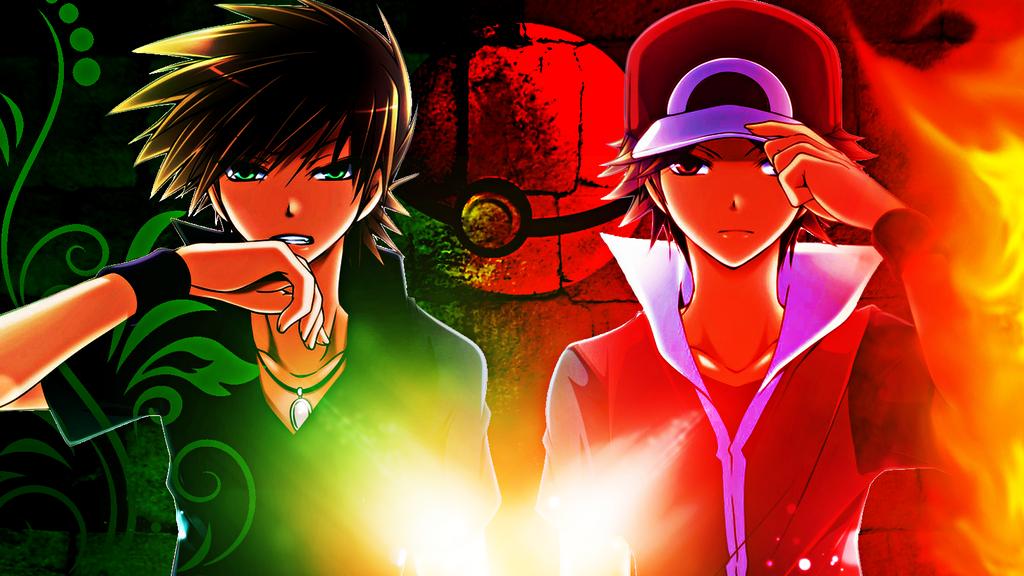 http://img04.deviantart.net/b78e/i/2013/297/6/6/pokemon___the_origin_wallpaper_red_and_green_by_lizardona-d6rmnm0.png