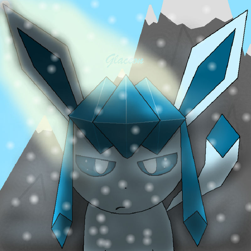 Glaceon Pixel Art By Bendydainkmaster On Deviantart