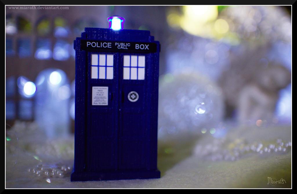 A Police Box by Miarath