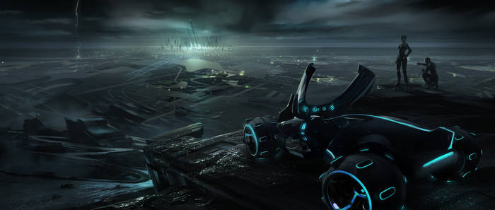 Tron Legacy Early Environment