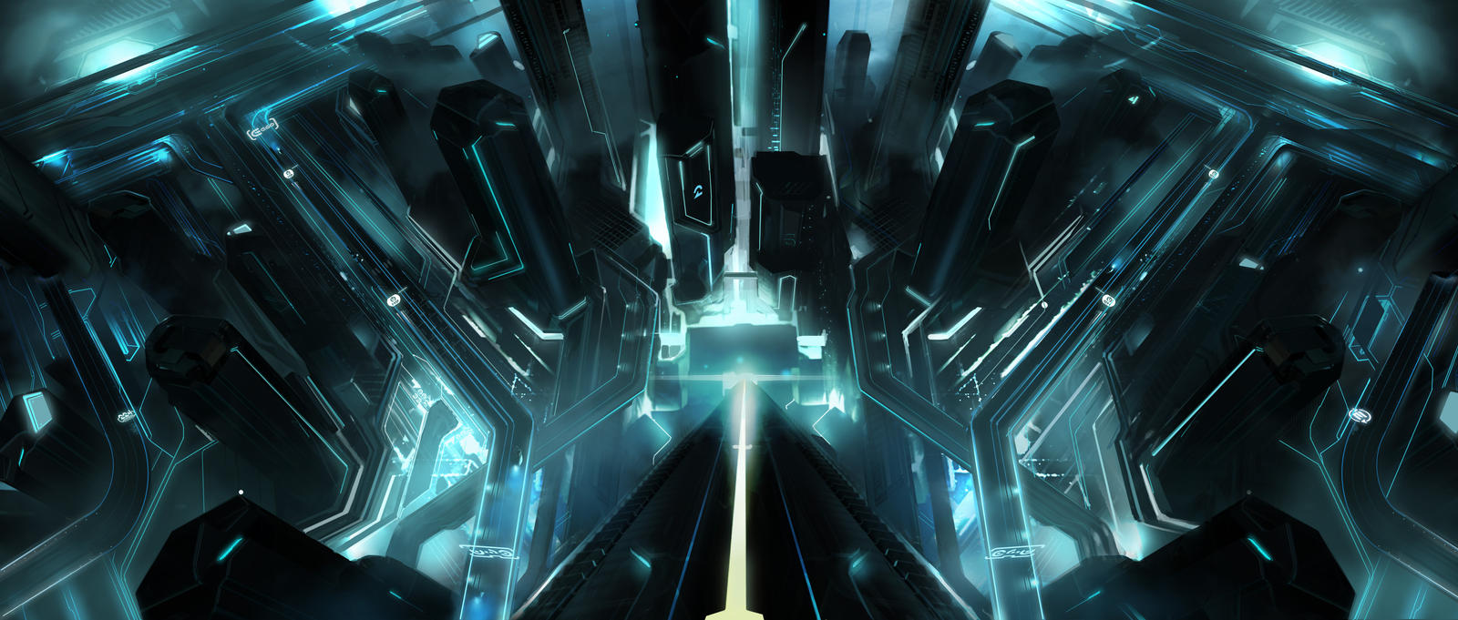 Tron Legacy Under the tower