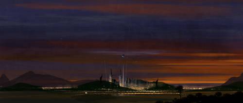 Tomorrowland Sunset by vyle-art