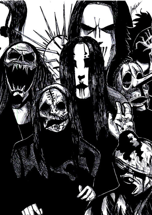 dibujos de   Mick Thomson slipknot