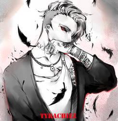 Tokyo Ghoul Fanart by Tyrachiez