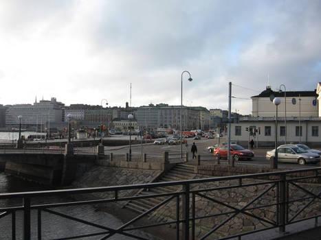 Helsinki Pohjoisesplanadi / Kanavakatu streets
