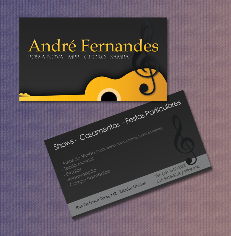 Business Card Music by Miojuh on DeviantArt